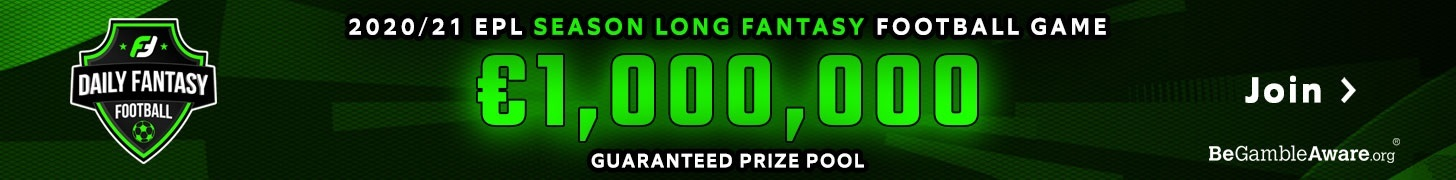 Join the 2020/21 Fantasy Premier League season long game - Win up to 200,000€!